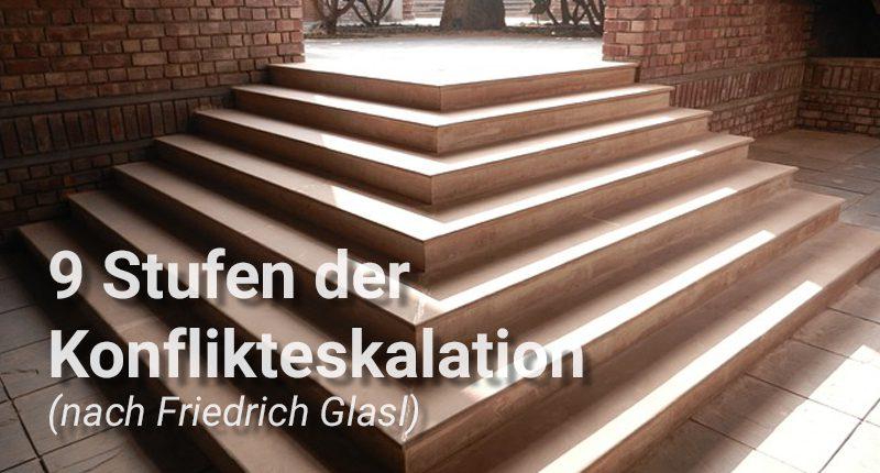 Permalink auf:Wenn es mit dem Streit bergab geht – 9 Stufen der Konflikt-Eskalation nach Friedrich Glasl